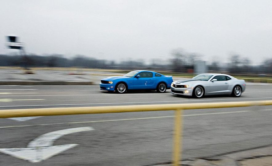 2010 Lingenfelter Chevrolet Camaro SS and 2010 Roush Ford Mustang Stage 3 - Slide 4