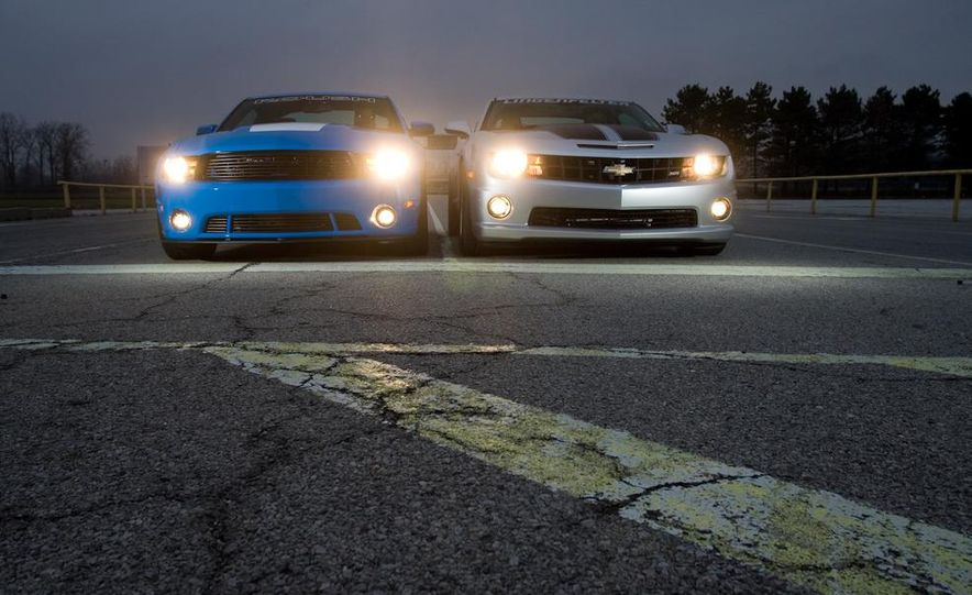 2010 Lingenfelter Chevrolet Camaro SS and 2010 Roush Ford Mustang Stage 3 - Slide 9