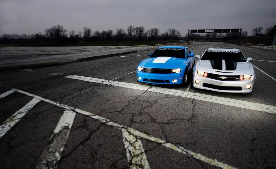 2010 Lingenfelter Chevrolet Camaro SS and 2010 Roush Ford Mustang Stage 3 - Slide 10