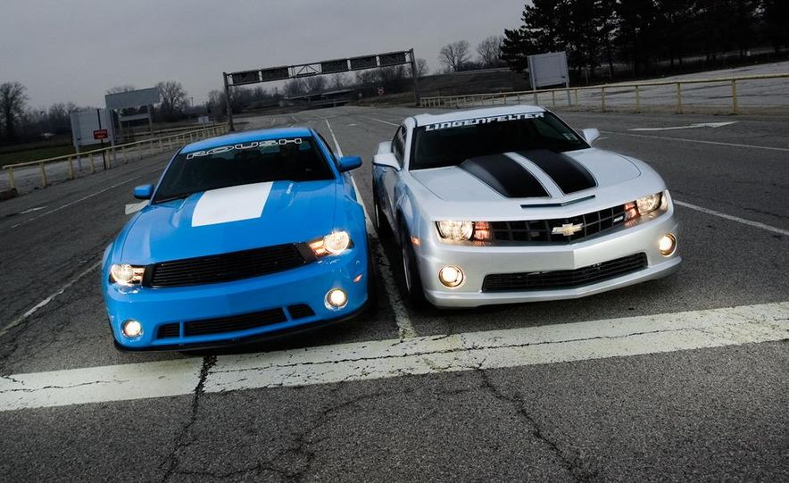 2010 Lingenfelter Chevrolet Camaro SS and 2010 Roush Ford Mustang Stage 3 - Slide 11