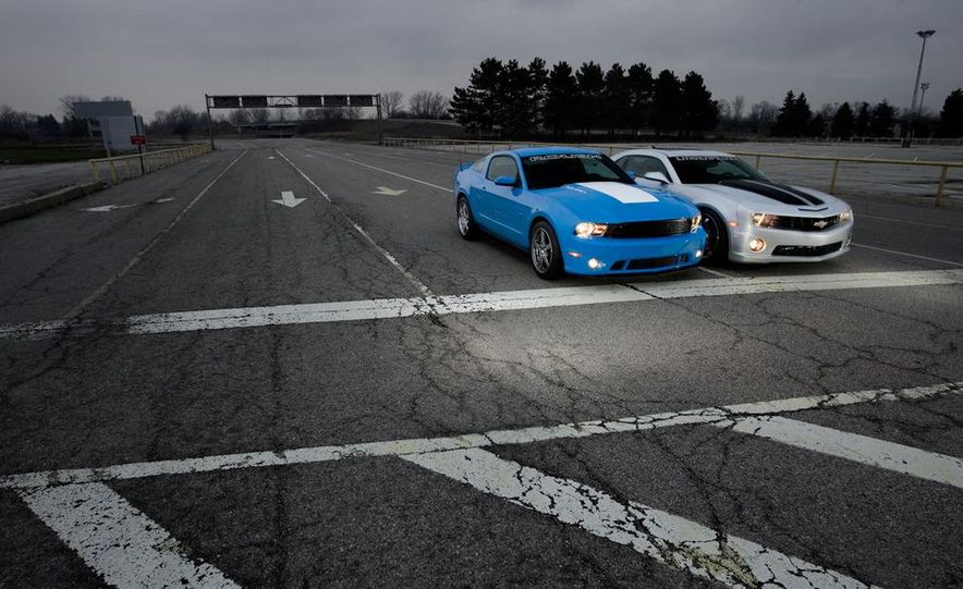 2010 Lingenfelter Chevrolet Camaro SS and 2010 Roush Ford Mustang Stage 3 - Slide 12