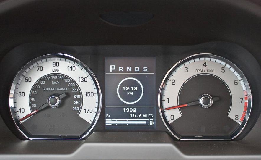 2010 Jaguar XF Supercharged - Slide 32