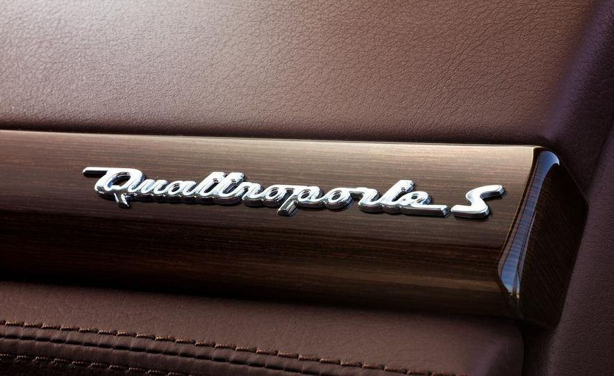 2011 Maserati Quattroporte GT-S Awards Edition - Slide 38