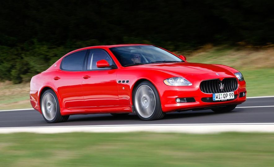 2011 Maserati Quattroporte GT-S Awards Edition - Slide 5