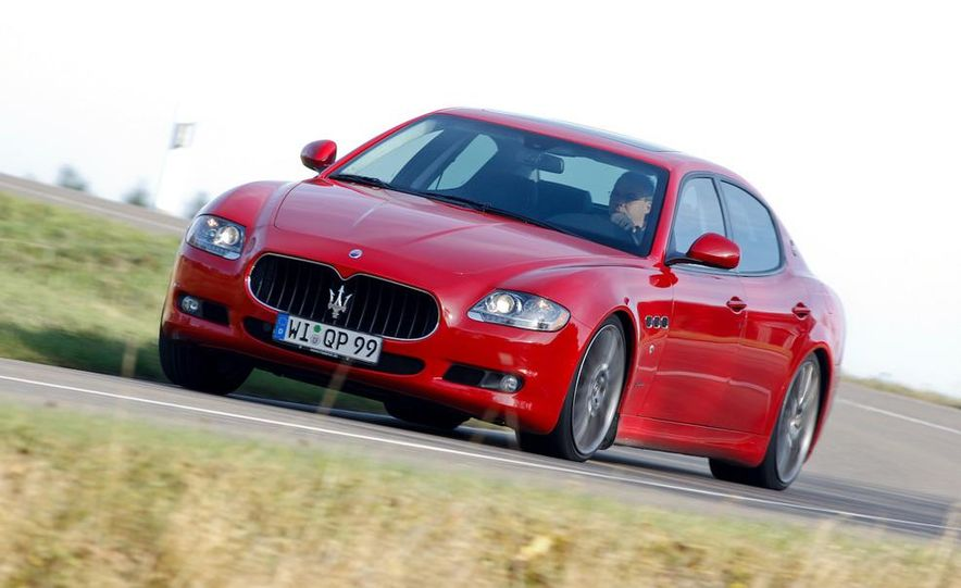 2011 Maserati Quattroporte GT-S Awards Edition - Slide 6