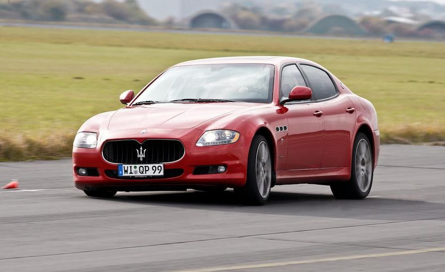 2011 Maserati Quattroporte GT-S Awards Edition - Slide 8