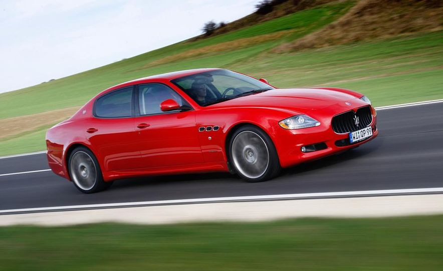 2011 Maserati Quattroporte GT-S Awards Edition - Slide 10