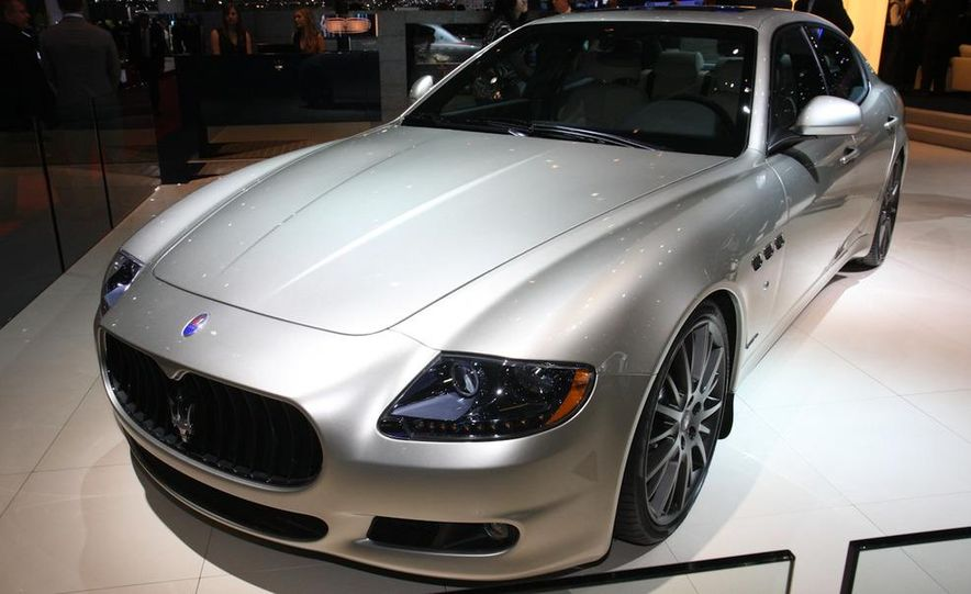 2011 Maserati Quattroporte GT-S Awards Edition - Slide 1