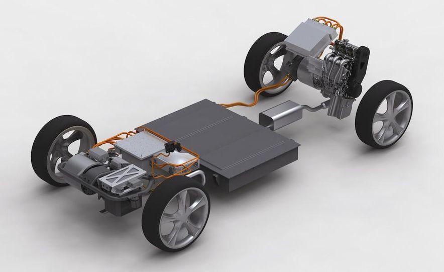 Proton concept hybrid powertrain - Slide 1