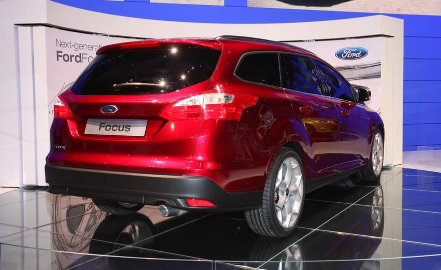 2011 / 2012 Ford Focus wagon (Euro-spec) - Slide 4