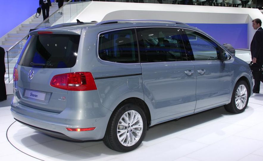 2010 Volkswagen Sharan - Slide 3