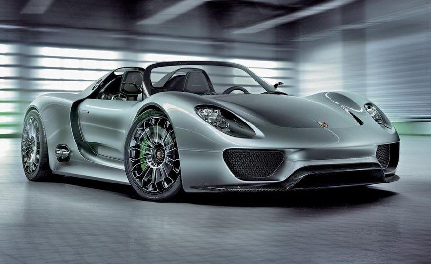Porsche 918 Spyder Plug-In Hybrid concept - Slide 14
