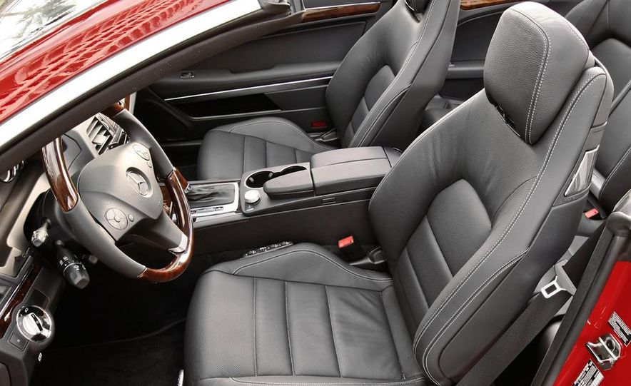 2011 Mercedes-Benz E350 Cabriolet - Slide 57