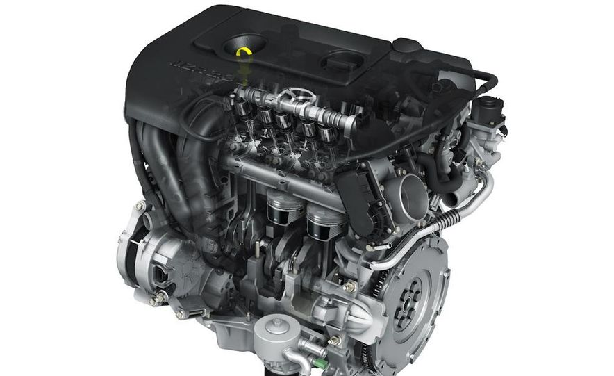 Mazda SKY-D diesel engine - Slide 23