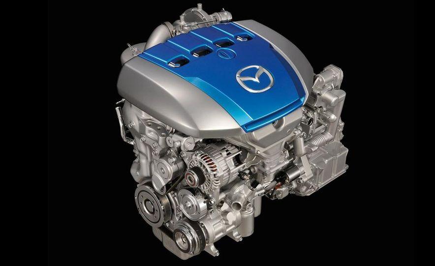 Mazda SKY-D diesel engine - Slide 1