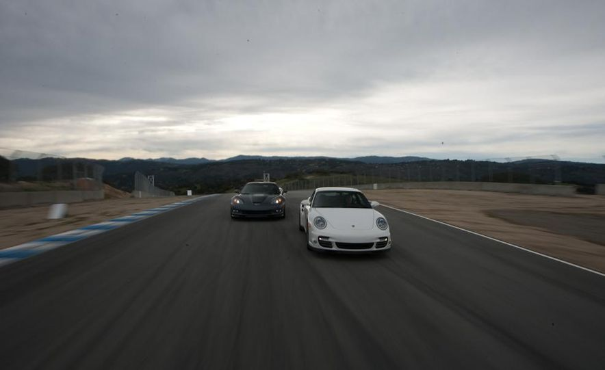 2010 Chevrolet Corvette ZR1 and 2010 Porsche 911 Turbo coupe - Slide 9