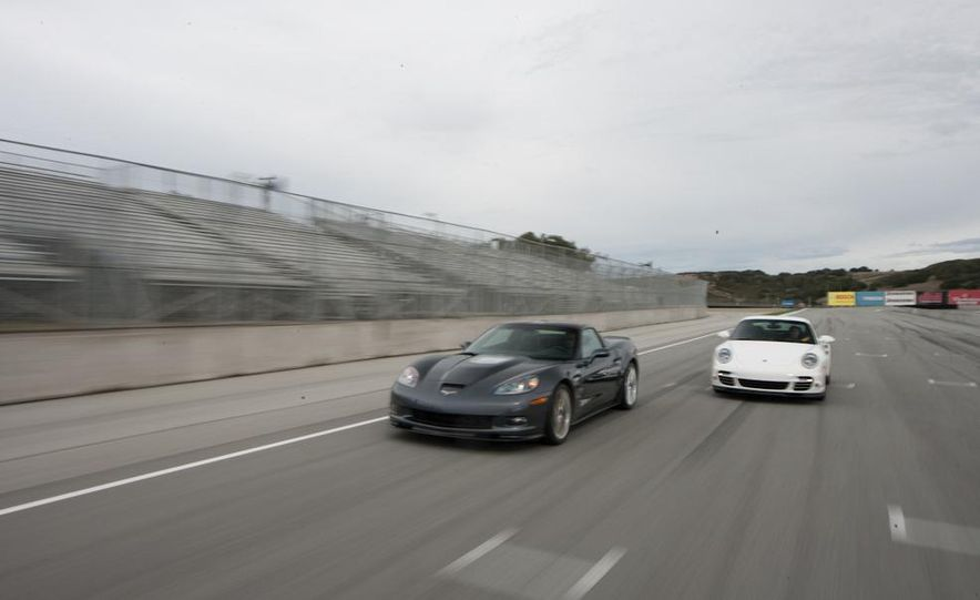 2010 Chevrolet Corvette ZR1 and 2010 Porsche 911 Turbo coupe - Slide 10