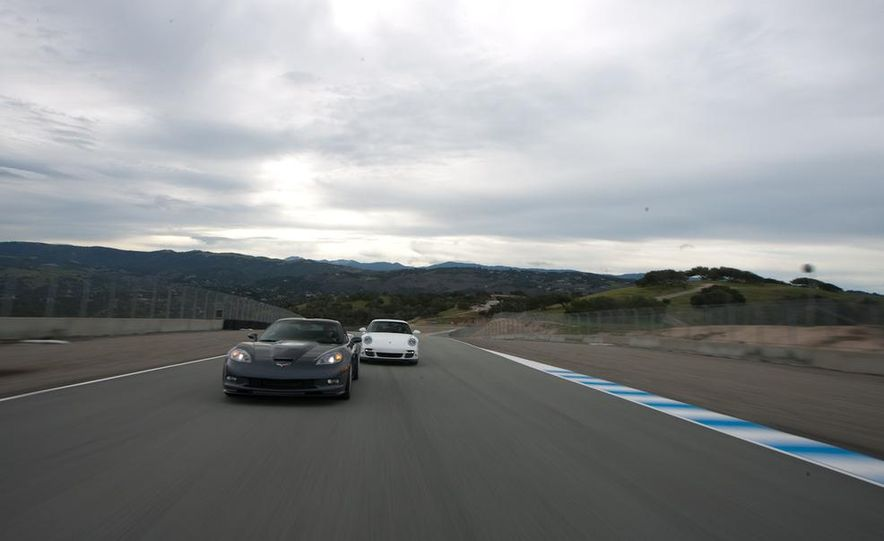 2010 Chevrolet Corvette ZR1 and 2010 Porsche 911 Turbo coupe - Slide 14