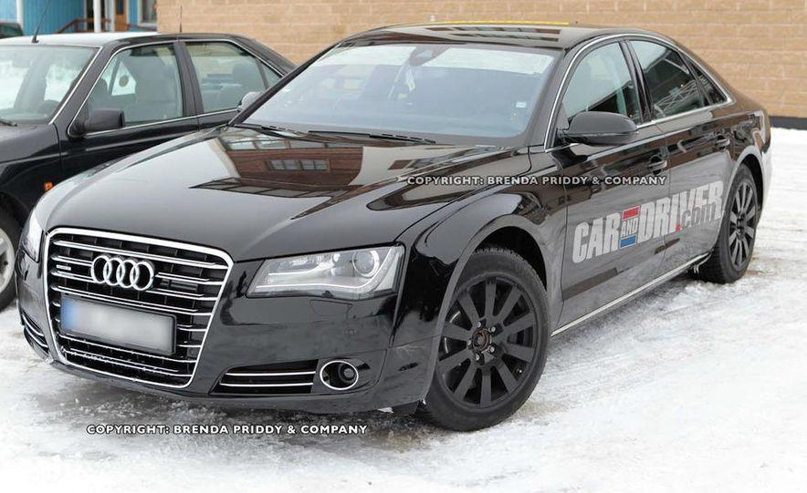 2012 Audi S8 (spy photo) - Slide 1