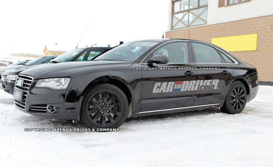 2012 Audi S8 (spy photo) - Slide 5