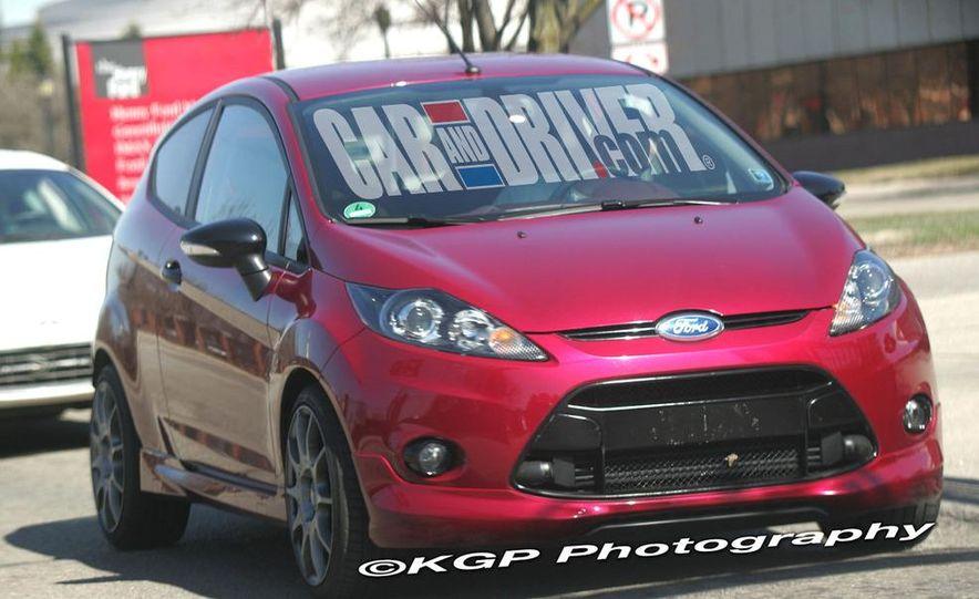 2011 Ford Fiesta 3-door with EcoBoost (spy photo) - Slide 1