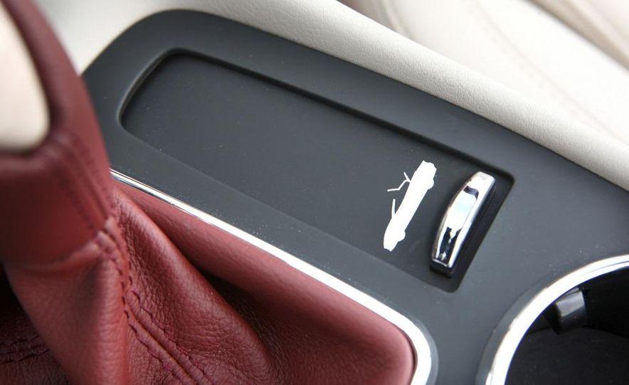 2011 Maserati GranTurismo convertible (sold as: GranCabrio in Europe) - Slide 48
