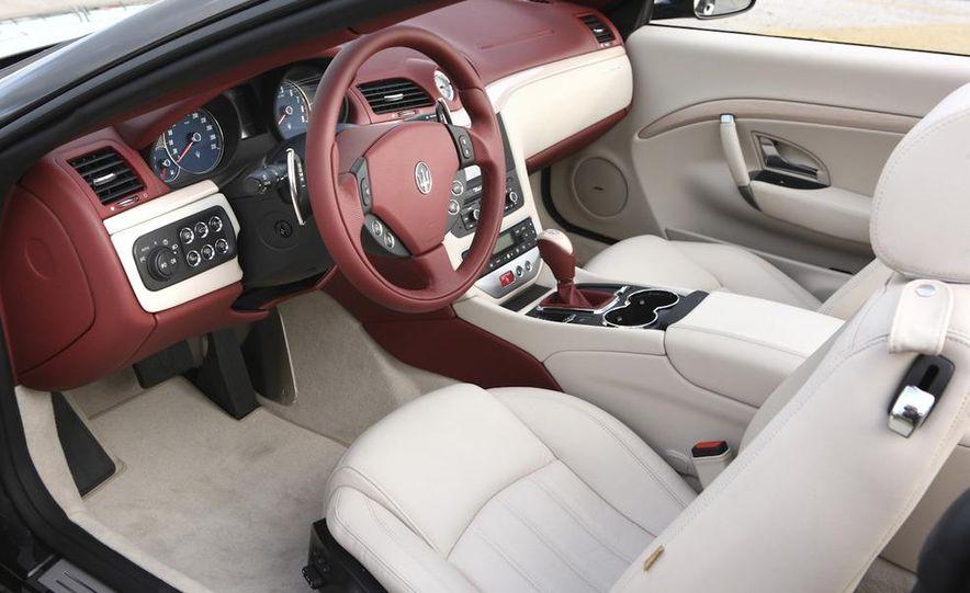2011 Maserati GranTurismo convertible (sold as: GranCabrio in Europe) - Slide 37