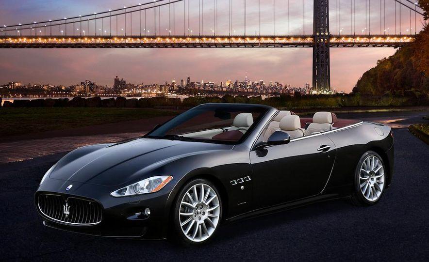 2011 Maserati GranTurismo convertible (sold as: GranCabrio in Europe) - Slide 36