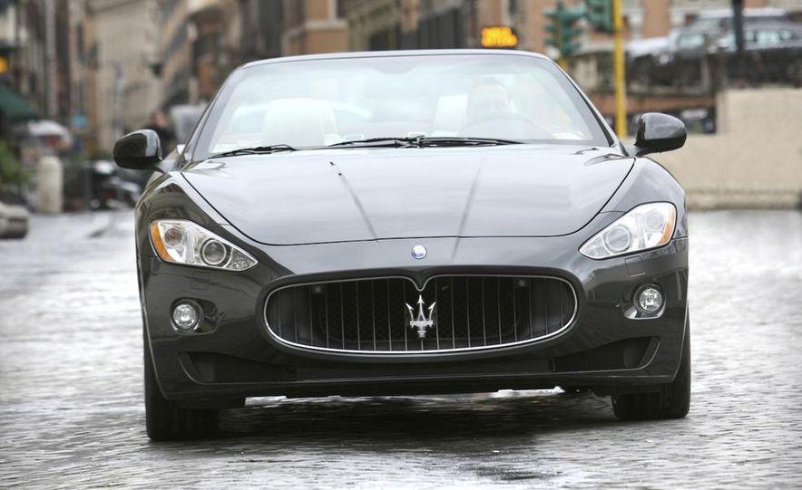 2011 Maserati GranTurismo convertible (sold as: GranCabrio in Europe) - Slide 13
