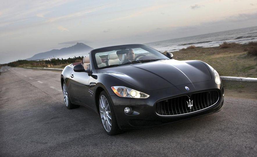2011 Maserati GranTurismo convertible (sold as: GranCabrio in Europe) - Slide 9