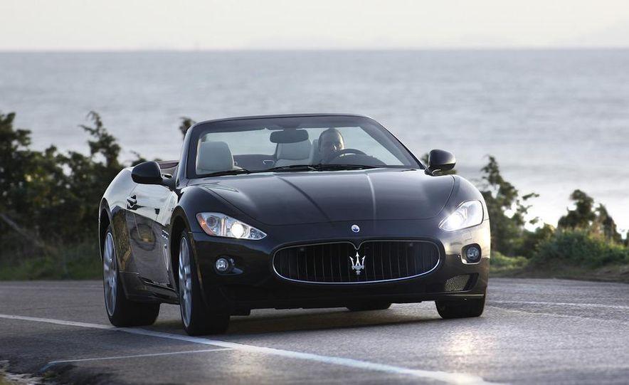 2011 Maserati GranTurismo convertible (sold as: GranCabrio in Europe) - Slide 2