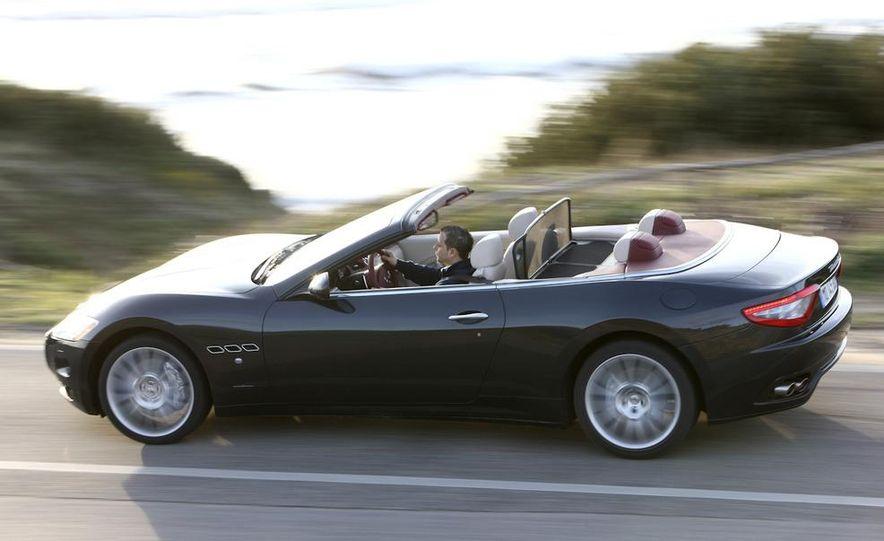 2011 Maserati GranTurismo convertible (sold as: GranCabrio in Europe) - Slide 4