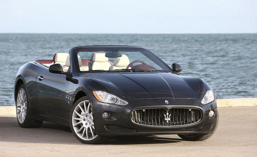 2011 Maserati GranTurismo convertible (sold as: GranCabrio in Europe) - Slide 19