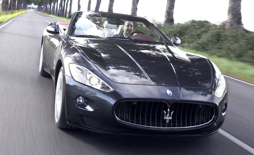 2011 Maserati GranTurismo convertible (sold as: GranCabrio in Europe) - Slide 5