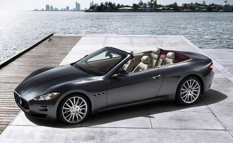 2011 Maserati GranTurismo convertible (sold as: GranCabrio in Europe) - Slide 30