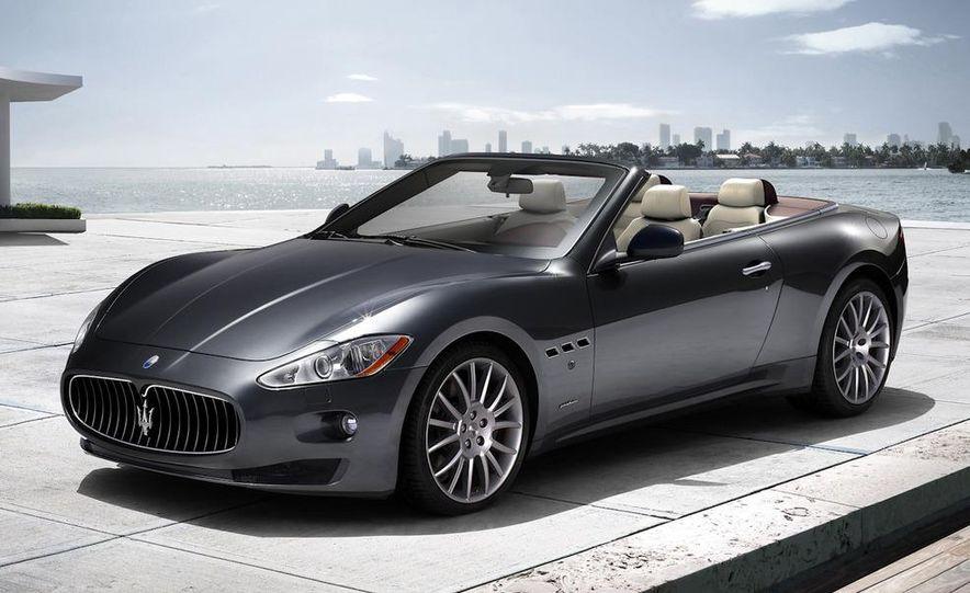 2011 Maserati GranTurismo convertible (sold as: GranCabrio in Europe) - Slide 31