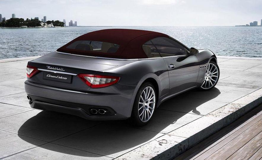 2011 Maserati GranTurismo convertible (sold as: GranCabrio in Europe) - Slide 35