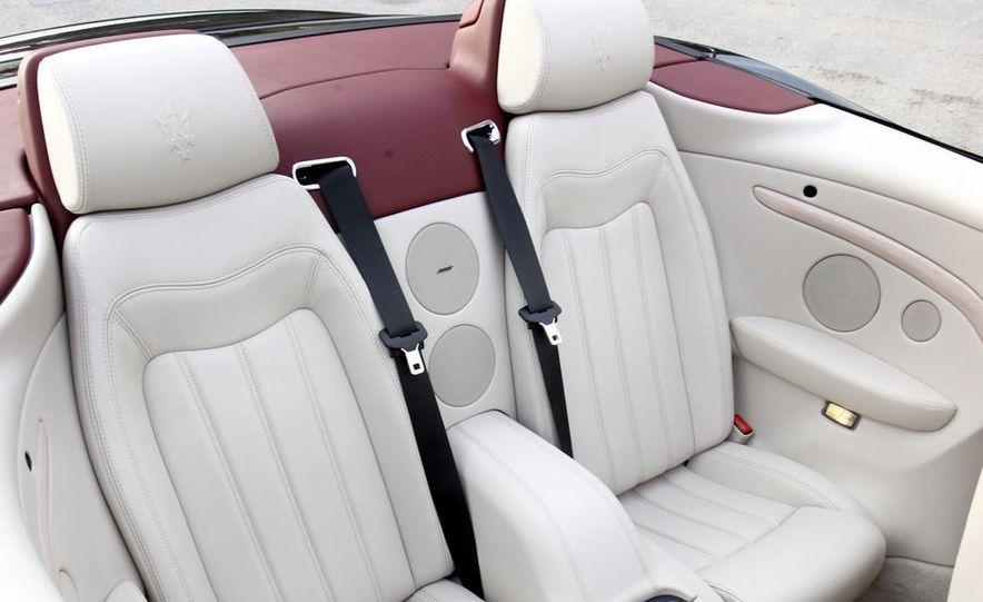 2011 Maserati GranTurismo convertible (sold as: GranCabrio in Europe) - Slide 40