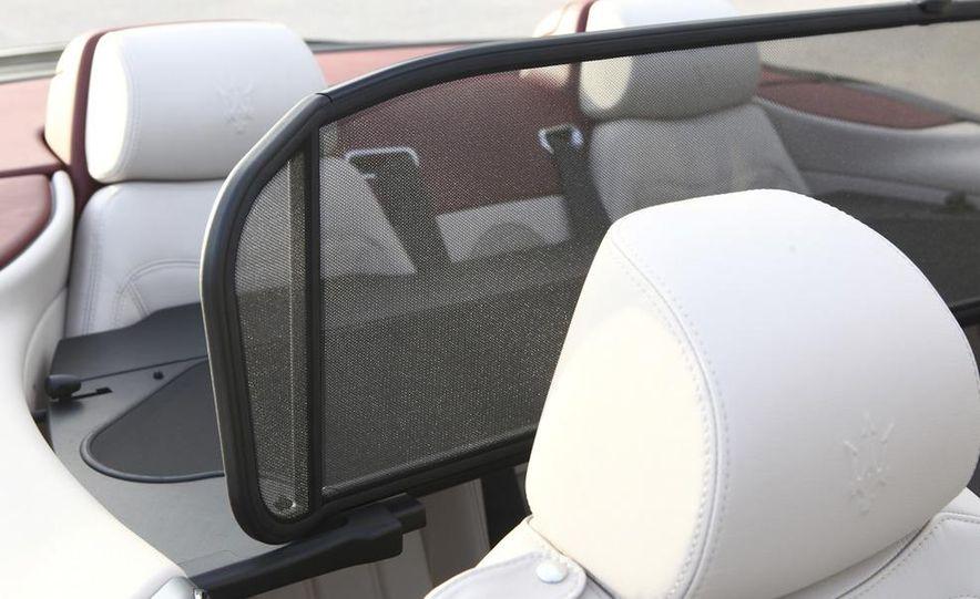 2011 Maserati GranTurismo convertible (sold as: GranCabrio in Europe) - Slide 43