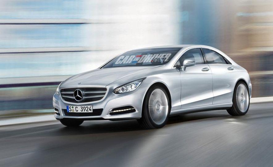 Future Mercedes-Benz C- and E-class design direction (artist's rendering) - Slide 1