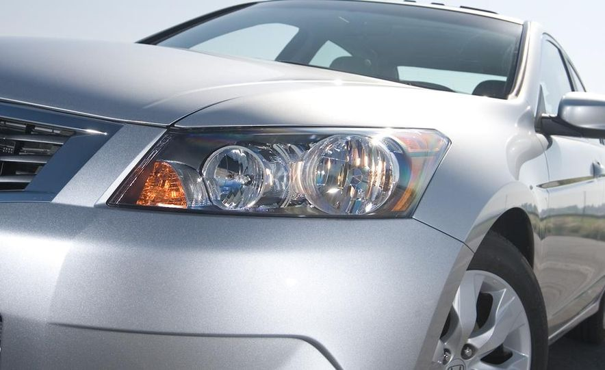 2010 Honda Accord EX, 2010 Subaru Legacy 2.5i, and 2011 Hyundai Sonata SE - Slide 23