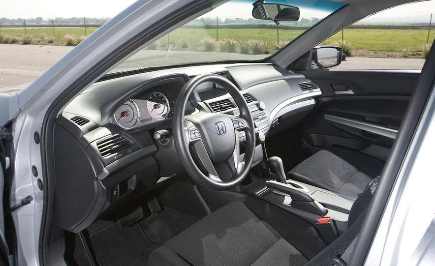 2010 Honda Accord EX, 2010 Subaru Legacy 2.5i, and 2011 Hyundai Sonata SE - Slide 26