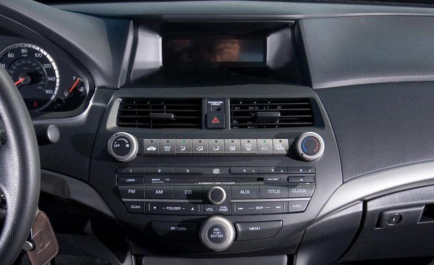 2010 Honda Accord EX, 2010 Subaru Legacy 2.5i, and 2011 Hyundai Sonata SE - Slide 31