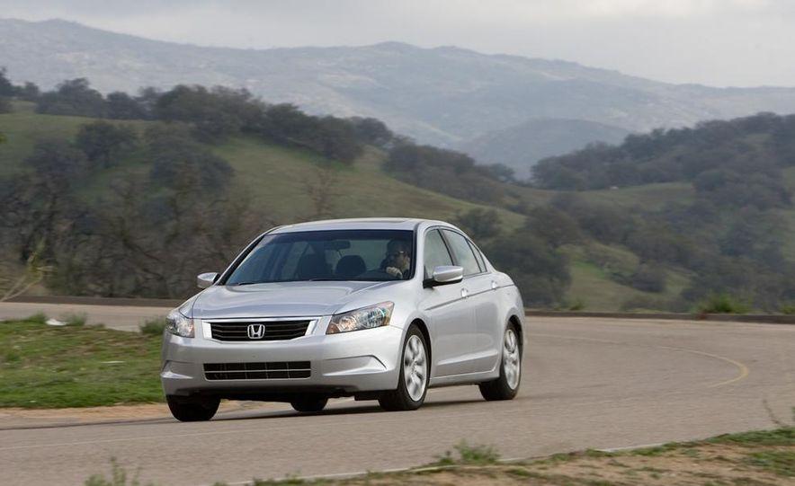 2010 Honda Accord EX, 2010 Subaru Legacy 2.5i, and 2011 Hyundai Sonata SE - Slide 13