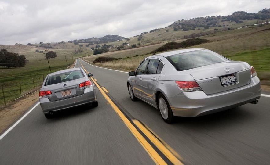 2010 Honda Accord EX, 2010 Subaru Legacy 2.5i, and 2011 Hyundai Sonata SE - Slide 11