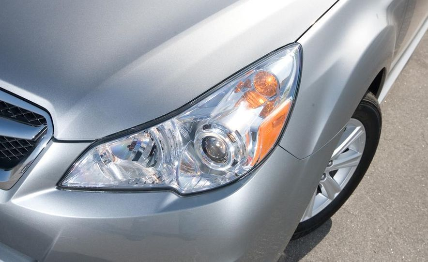 2010 Honda Accord EX, 2010 Subaru Legacy 2.5i, and 2011 Hyundai Sonata SE - Slide 51