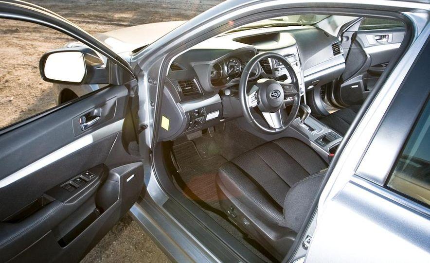 2010 Honda Accord EX, 2010 Subaru Legacy 2.5i, and 2011 Hyundai Sonata SE - Slide 56