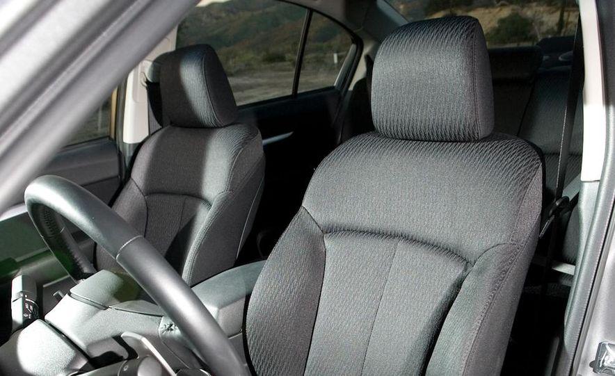 2010 Honda Accord EX, 2010 Subaru Legacy 2.5i, and 2011 Hyundai Sonata SE - Slide 59