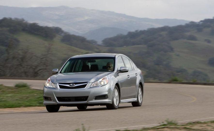 2010 Honda Accord EX, 2010 Subaru Legacy 2.5i, and 2011 Hyundai Sonata SE - Slide 36