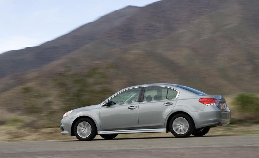 2010 Honda Accord EX, 2010 Subaru Legacy 2.5i, and 2011 Hyundai Sonata SE - Slide 37